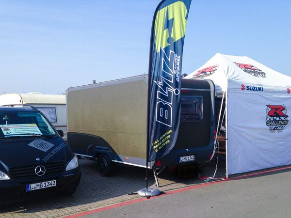 Blitz Racing Apparel unterwegs…
