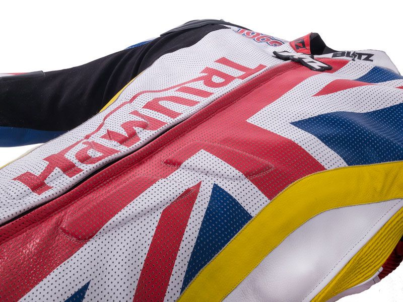very british… Uwe's ganz eigenes Lederkombi Design